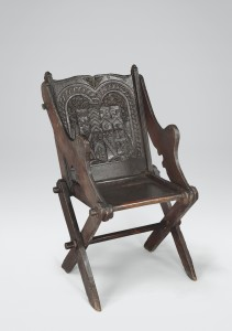 Panel-Back Chair #1