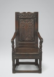 Panel-Back Chair #3