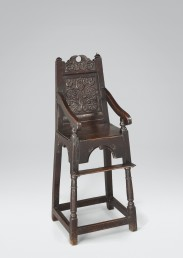 Panel-Back Chair #5