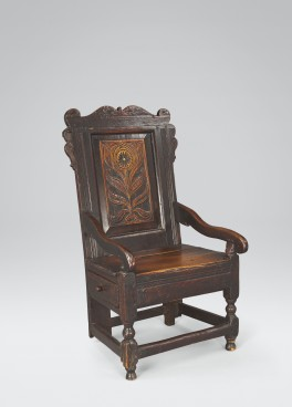 Panel-Back Chair #6